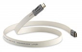 QED Performance e-Flex HDMI High Speed with Ethernet, White